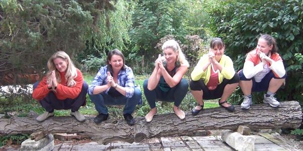 Yin Yoga in Baden - Squats